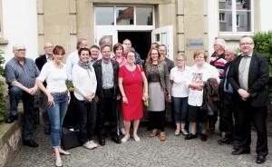 CDU-Fraktion im Regionalverband Saarbrücken vor Ort in St. Arnual
