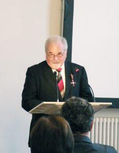 Dankrede Hubert J. Saub