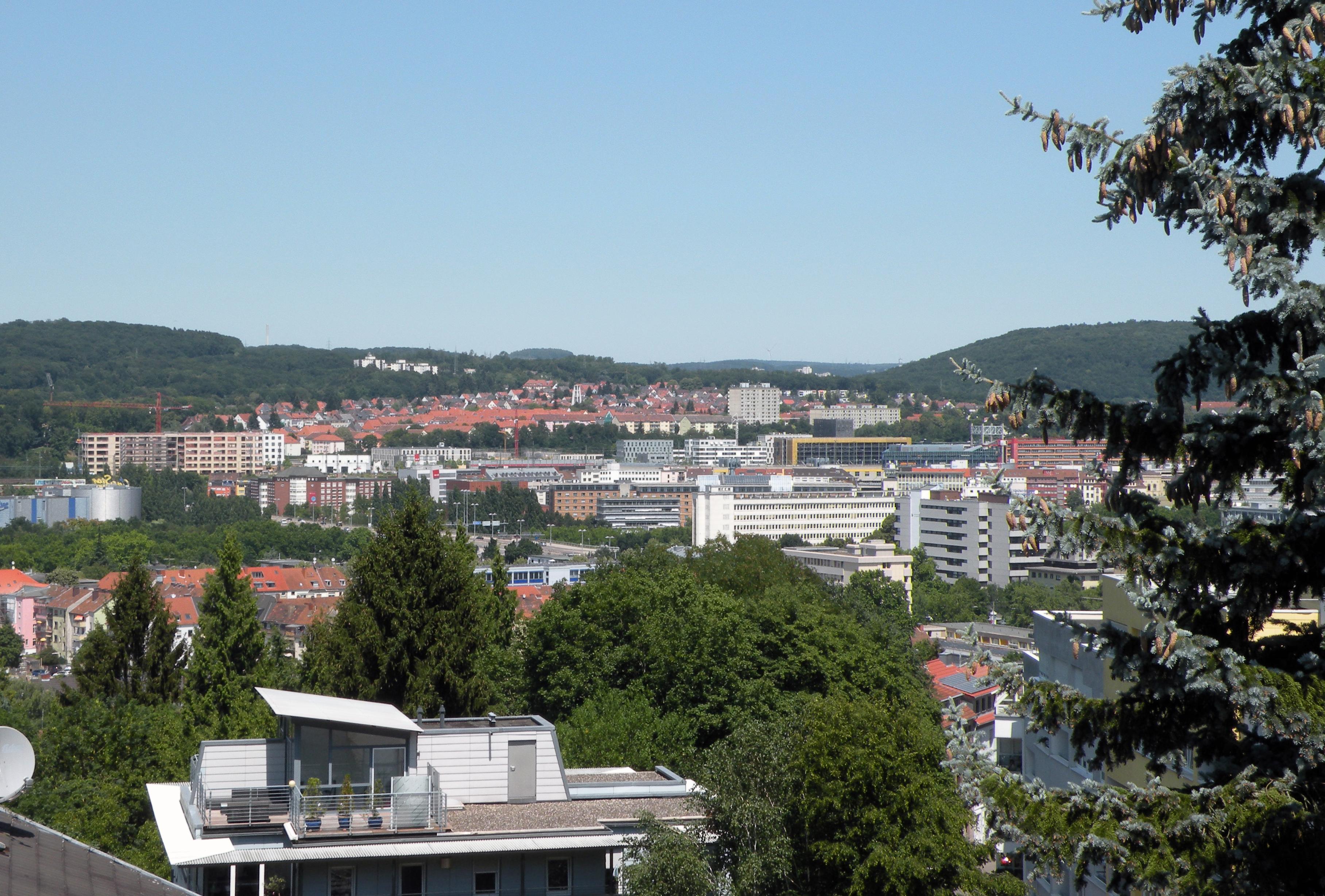 Ausblick Bellevue Saarbrücken