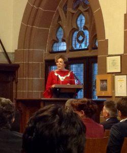 Ansprache von Oberbürgermeisterin Britz anlässlich der Verleihung der Freiherr-vom-Stein-Medaille am 18.12.2018