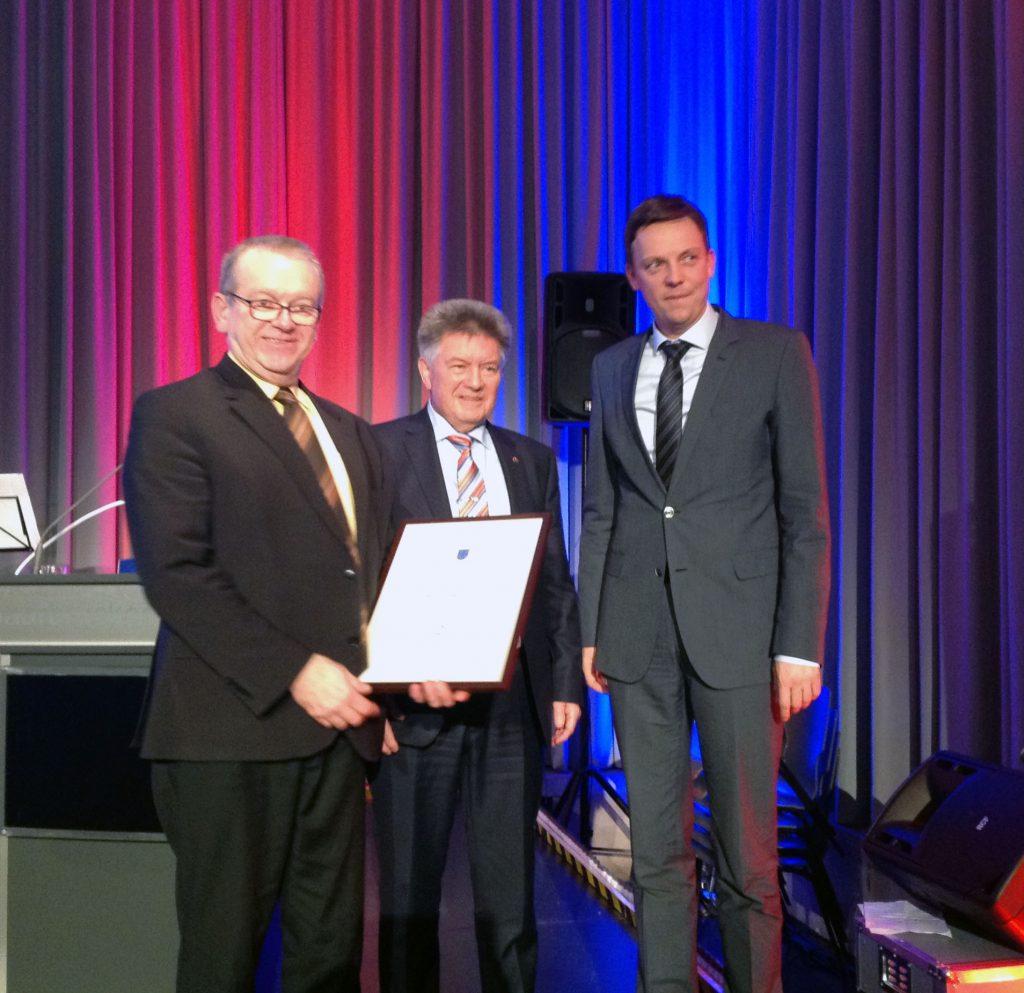 Auszeichnung unseres Fraktionsmitglieds Manfred Maurer für 25 Jahre Moderation der Ehrungen beim Neujahrsempfang