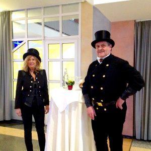Schornsteinfeger Glücksehepaar Bernhard und Doris Krass